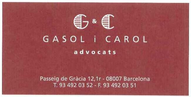 Advocats barcelona