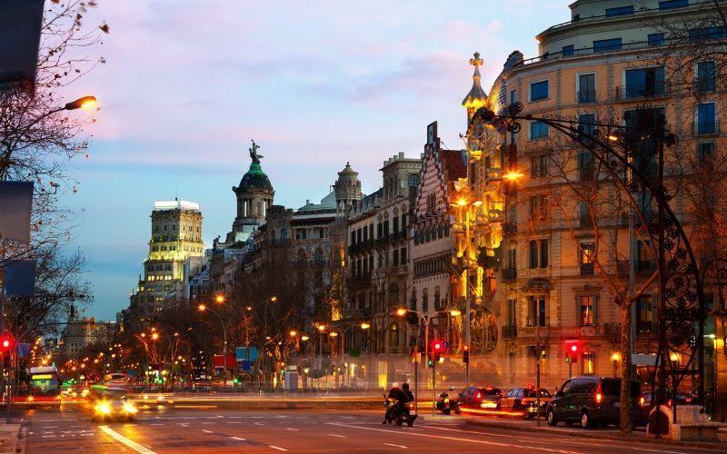 business center paseo gracia barcelona