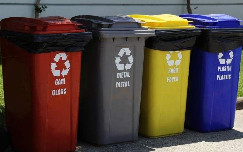 basuras de reciclado