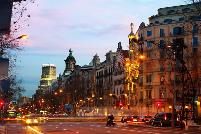 Oficina Virtual a Paseo de Gracia, Barcelona